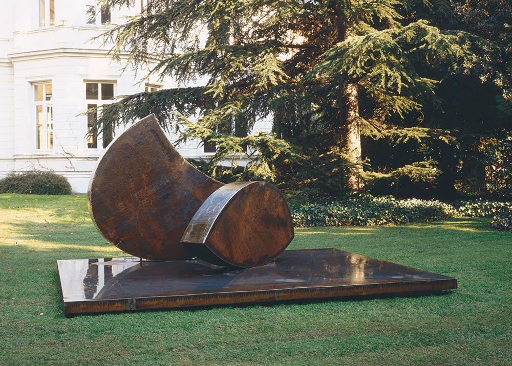 Skulptur: Position im Schwerpunkt von Wolfgang Nestler (4)