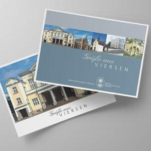 Postkarten-Editionen Sehenswürdigkeiten der Stadt Viersen