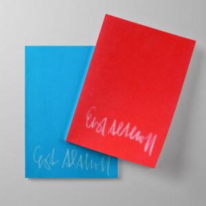 Ernst J. Althoff - Spielplatz Kunst | Das rote und das blaue Heft