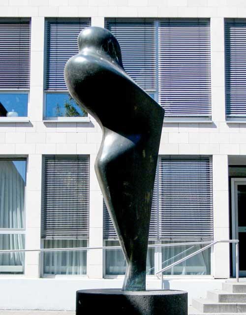Skulptur: Figur von David Lauer (4)