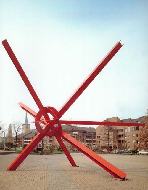 Skulptur: New Star von Mark di Suvero (1)