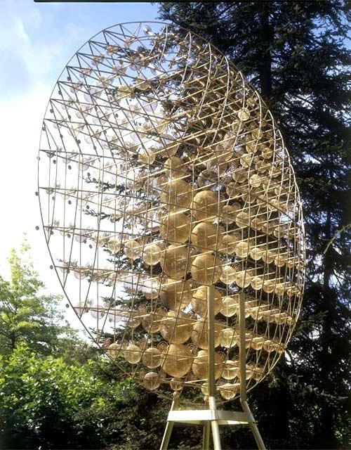 Skulptur: Optimus II von Günter Haese