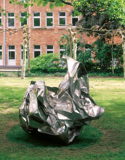 Skulptur: China Daily von Wang Du