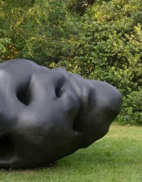 Skulptur: Zirbel von Gereon Krebbber (1)