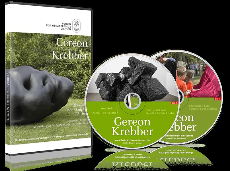 DVD Gereon Krebber - Übergabe der Skulptur Zirbel