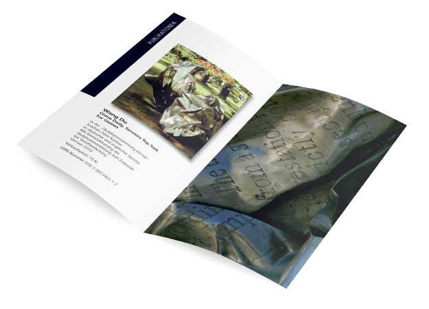 Flyer: Skulpturensammlung Viersen