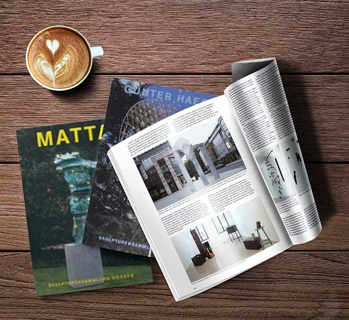 Kunst-Publikationen der Skulpturensammlung Viersen