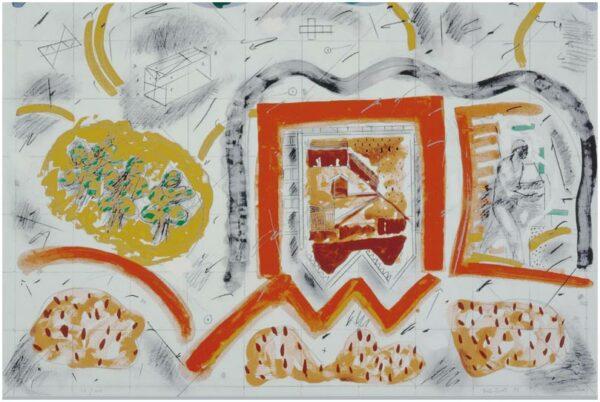 Grafik von Bill Scott - Fragments from the city
